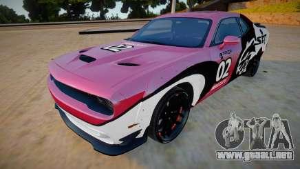 Dodge Challenger Hellcat Prior Design para GTA San Andreas