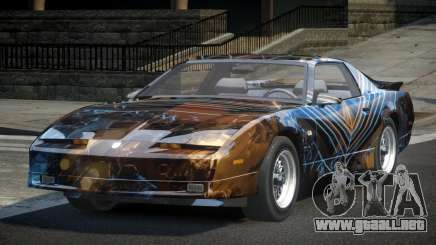 Pontiac TransAm U-Style L1 para GTA 4