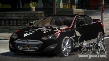 Hyundai Genesis GST Drift L7 para GTA 4