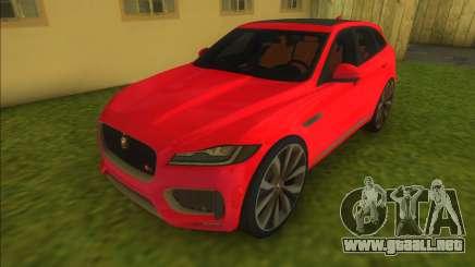 Jaguar F Pace para GTA Vice City