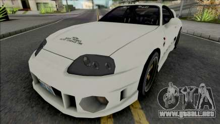 Toyota Supra Twins 1993 White para GTA San Andreas
