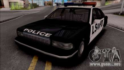 Beta Premier Police LS (Final) para GTA San Andreas