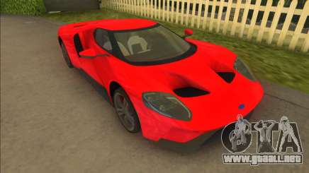 Ford GT 2017 para GTA Vice City
