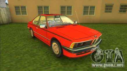 BMW M6 (good model) para GTA Vice City