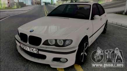 BMW 3-er E46 330D para GTA San Andreas