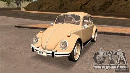 Volkswagen Beetle (Fuscao) 1500 1971 - Brasil para GTA San Andreas