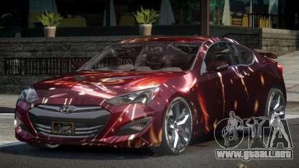Hyundai Genesis GST Drift L10 para GTA 4