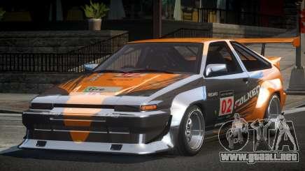 1983 Toyota AE86 GS Racing L5 para GTA 4