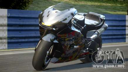 Ducati Desmosedici L5 para GTA 4