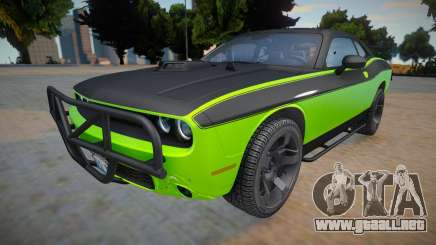 Dodge Challenger RTShaker F7 (High quality car) para GTA San Andreas
