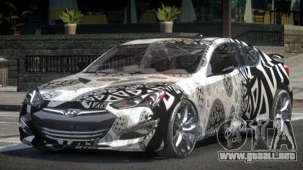 Hyundai Genesis GST Drift L4 para GTA 4