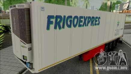 Refrigerated Trailer Frigo Express para GTA San Andreas