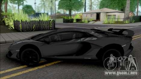 Lamborghini Aventador SVJ para GTA San Andreas
