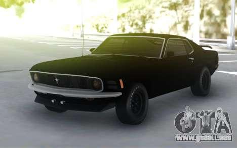 Ford Mustang 302 LP 1970 para GTA San Andreas