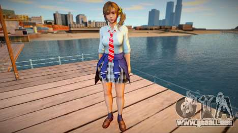 Misaki Spring School Wear para GTA San Andreas