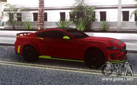 Ford Mustang RTR Spec5 2019 para GTA San Andreas