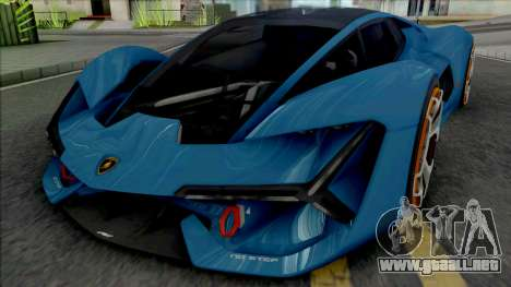Lamborghini Terzo Millennio [Fixed] para GTA San Andreas