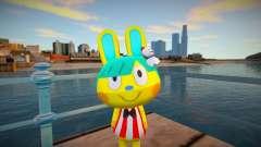 Animal Crossing Pocket Camp Toby Skin Mod para GTA San Andreas