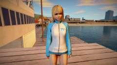 Marie Rose Training Gear skin para GTA San Andreas