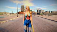 Helena Douglas Casual v20 para GTA San Andreas