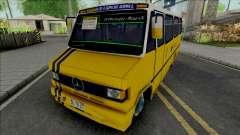 Mercedes-Benz LO 809 Inrecar para GTA San Andreas