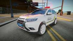 Mitsubishi Outlander - Patrulla de policía ucran