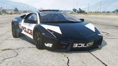Lamborghini Reventon 2008〡Hot Pursuit Police〡add-on para GTA 5