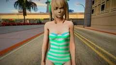 Nagis Marie Rose with fixed hairs green-eyed in para GTA San Andreas