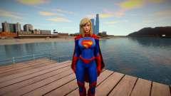 Supergirl Legendary from DC Comics Legends skin para GTA San Andreas