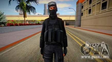 New SWAT (good textures) para GTA San Andreas