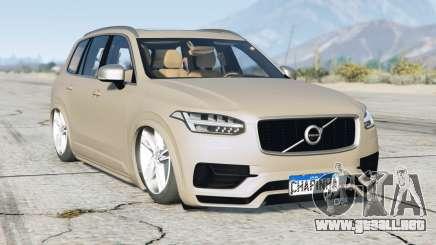 Volvo XC90 T8 R-Design 2016〡lowered〡add-on para GTA 5