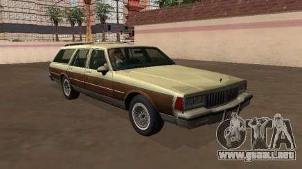 Pontiac Safari 1979 Madera para GTA San Andreas