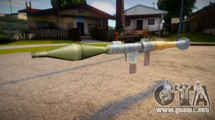 New textures for the rocket launcher para GTA San Andreas