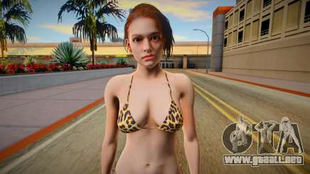 RE3 Remake Jill Valentime Bikini v3 para GTA San Andreas