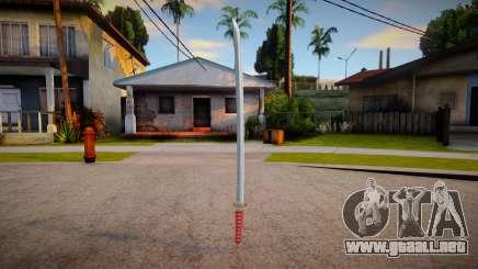Katana (buenas texturas) para GTA San Andreas