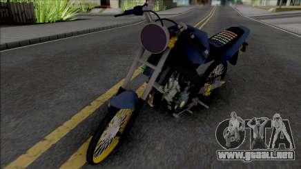 Yamaha Vixion Old Herex para GTA San Andreas