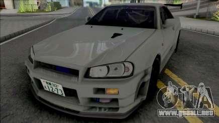 Nissan Skyline GT-R R34 JP para GTA San Andreas