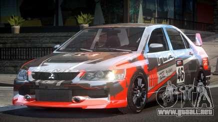 Mitsubishi Lancer GS Tuning L4 para GTA 4