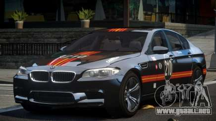 BMW M5 F10 PSI-R S9 para GTA 4