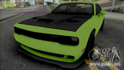 Dodge Challenger SRT Hellcat [Fixed] para GTA San Andreas