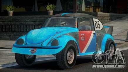 Volkswagen Beetle Prototype from FlatOut PJ2 para GTA 4