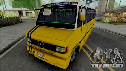 Mercedes-Benz LO 809 Inrecar para GTA San Andreas