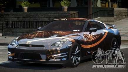 Nissan GT-R V6 Nismo S2 para GTA 4
