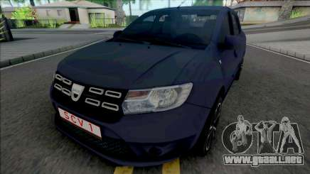Dacia Logan Pope Edition para GTA San Andreas