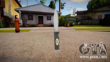 The Expendables Knife Skin mod para GTA San Andreas