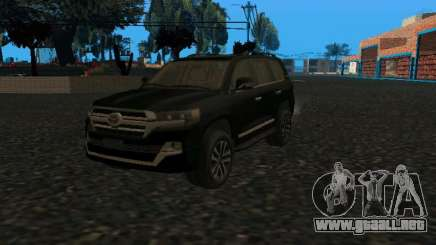 TOYOTA LC200 Executive Louge Black 2021 para GTA San Andreas