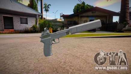 SIG P226R (Escape from Tarkov) - Silenced v2 para GTA San Andreas