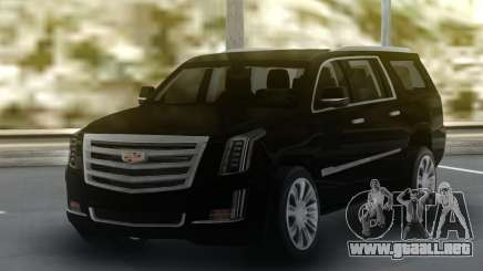 Cadillac Escalade Black Series para GTA San Andreas