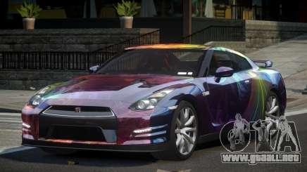 Nissan GT-R V6 Nismo S6 para GTA 4