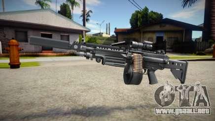 M249 (good textures) para GTA San Andreas